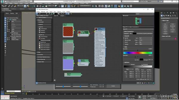 Controlling reflectance in bitmap images: Mental Ray: Control Color Bleed in 3ds Max