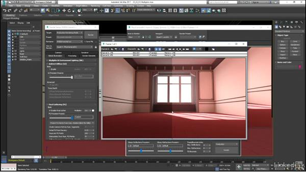 Beware of the FG and Photon Multiplier controls: Mental Ray: Control Color Bleed in 3ds Max