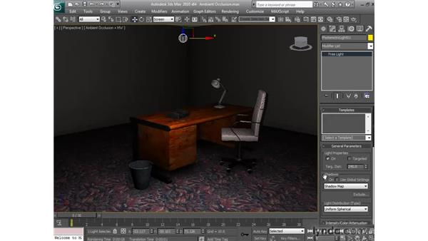 Applying Ambient Occlusion: 3ds Max 2010 New Features