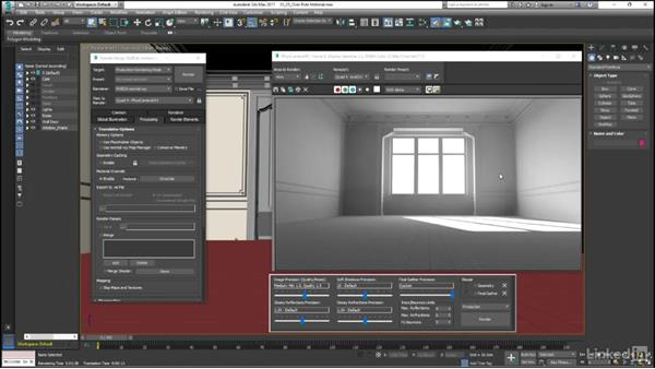 The override material, saving GI maps: Mental Ray: Control Color Bleed in 3ds Max