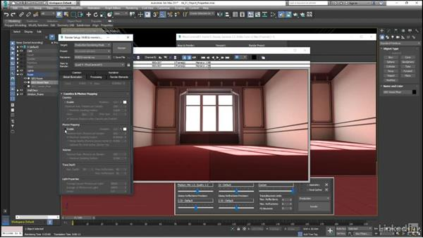 The Object Property controls: Mental Ray: Control Color Bleed in 3ds Max