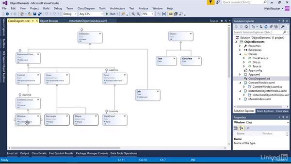Instantiate object elements in XAML: Microsoft XAML Fundamentals 1: Core Concepts