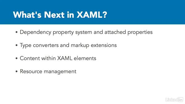 Next steps: Microsoft XAML Fundamentals 1: Core Concepts