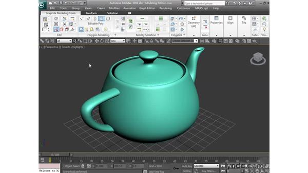 Customizing the Modeling Ribbon: 3ds Max 2010 New Features
