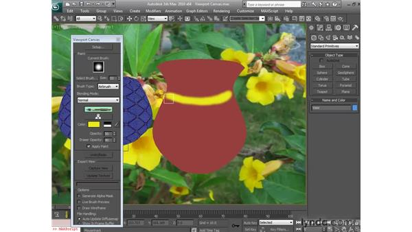Using the viewport canvas: 3ds Max 2010 New Features