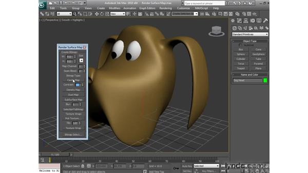Using the Render Surface map: 3ds Max 2010 New Features