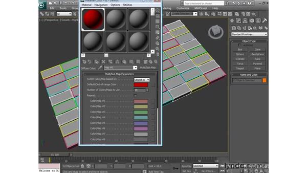 Using the Mental Ray Multi Sub-Map Shader: 3ds Max 2010 New Features
