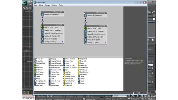 Understanding the new Particle Flow operators and tests: 3ds Max 2010 New Features