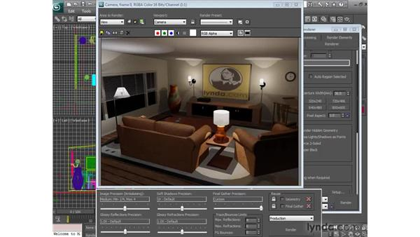 Exploring Mental Ray's Render Frame Window improvements: 3ds Max 2010 New Features