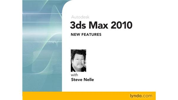 Goodbye: 3ds Max 2010 New Features