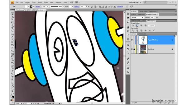 Minus Front vs. Minus Back: Illustrator CS4 One-on-One: Advanced