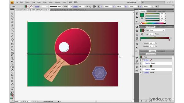 Introducing the new Gradient tool: Illustrator CS4 One-on-One: Advanced