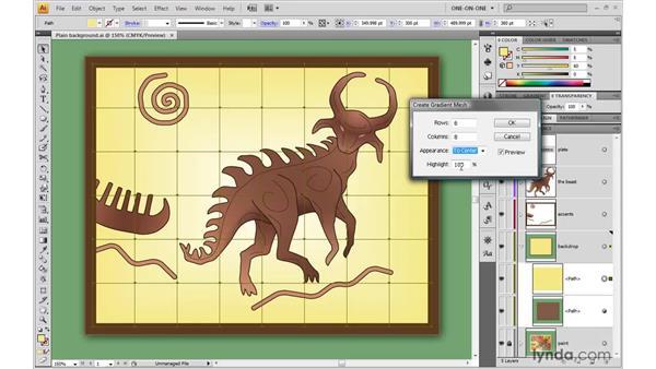 Creating a gradient mesh: Illustrator CS4 One-on-One: Advanced