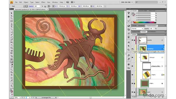 Adding and deleting rows and columns: Illustrator CS4 One-on-One: Advanced