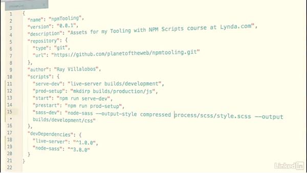 Welcome: Tooling with NPM Scripts