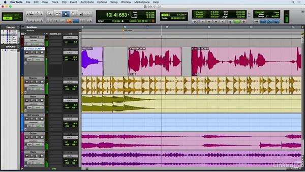Editing breaths, mouth noise, and pops: Vocal Production Techniques: Editing and Mixing in Pro Tools