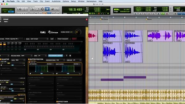 Experimenting with iZotope's Stutter Edit: Vocal Production Techniques: Editing and Mixing in Pro Tools