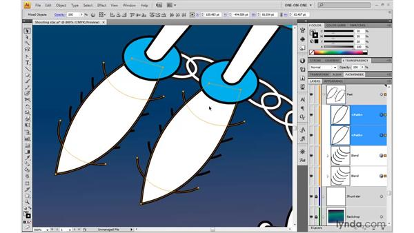 Creating a compound clipping mask: Illustrator CS4 One-on-One: Advanced