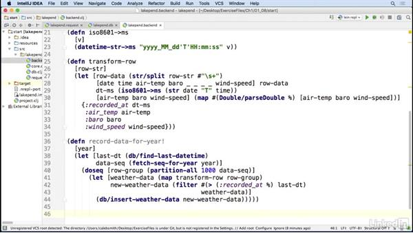 Populating the DB: Code Clinic: Clojure