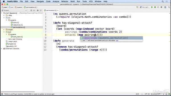 Permutation solution: Code Clinic: Clojure