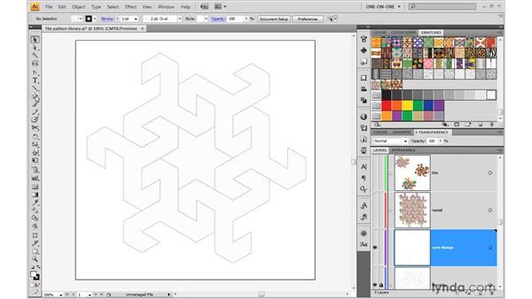 Beginning a core design: Illustrator CS4 One-on-One: Advanced