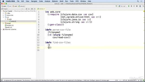 Reading CSV data: Code Clinic: Clojure