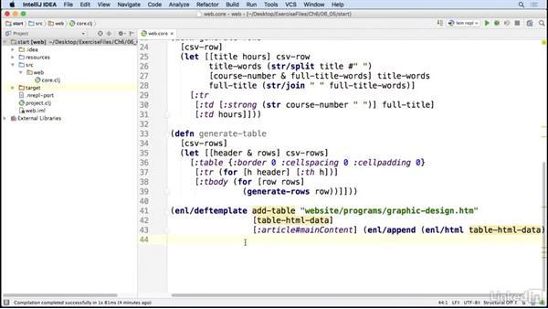 Parsing HTML: Code Clinic: Clojure
