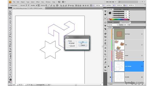 Achieving precise radial symmetry: Illustrator CS4 One-on-One: Advanced