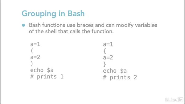 Time commands and set variables: Linux: Bash Shell and Scripts