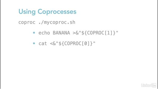Using the coproc command: Linux: Bash Shell and Scripts