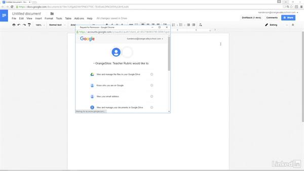 Add-ons: Google Apps 2016 for Education Essential Training