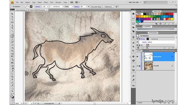 Calligraphic brush options: Illustrator CS4 One-on-One: Advanced