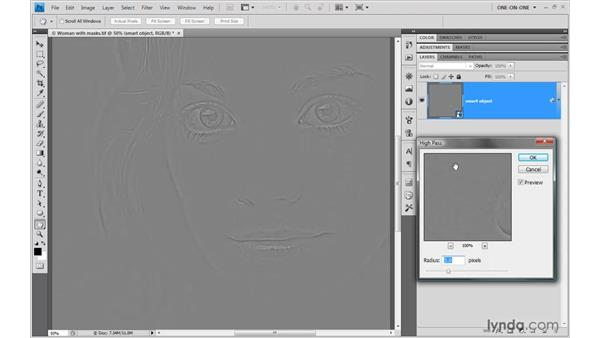 Filtering an image in Photoshop: Illustrator CS4 One-on-One: Advanced