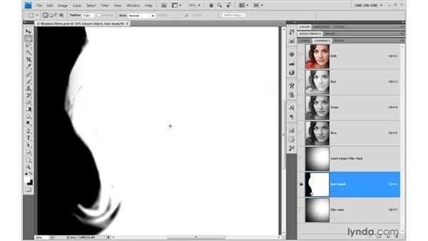 Masking a woman from the background: Illustrator CS4 One-on-One: Advanced
