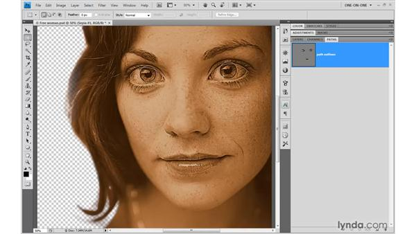 Creating a sepia effect: Illustrator CS4 One-on-One: Advanced