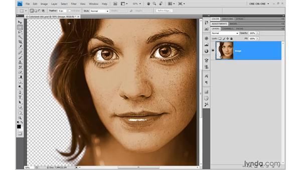 Preparing an image for use in Illustrator: Illustrator CS4 One-on-One: Advanced