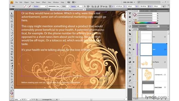 A better way to wrap text: Illustrator CS4 One-on-One: Advanced
