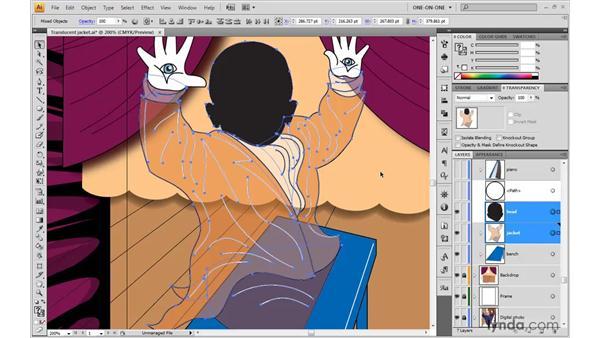 Using the Clip checkbox: Illustrator CS4 One-on-One: Advanced
