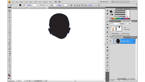 Opacity mask tips and tricks: Illustrator CS4 One-on-One: Advanced