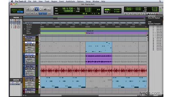 Playing back audio : Pro Tools 8 Essential Training