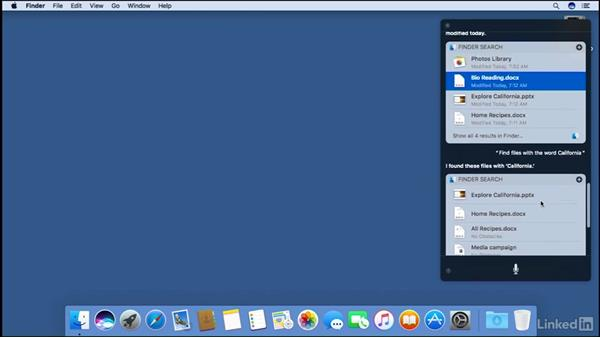 Siri: macOS Sierra New Features