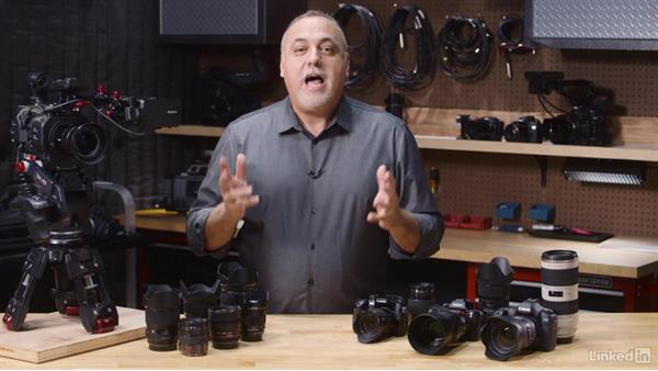 Lenses and aperture: What Video Camera Should I Buy?