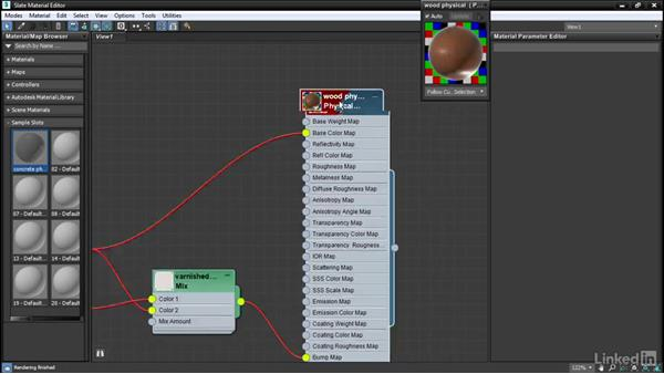 Layout and select commands: 3ds Max: Advanced Materials