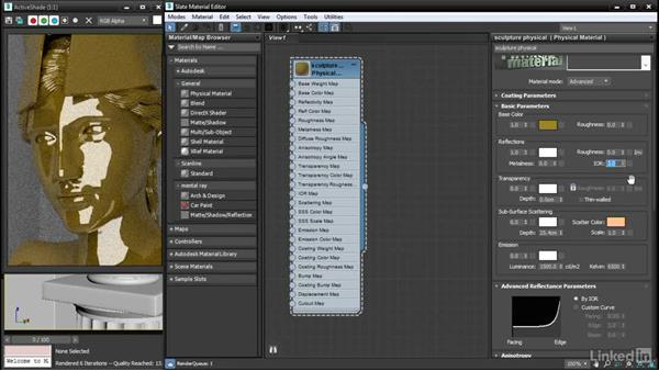 Using IOR to control reflectance: 3ds Max: Advanced Materials