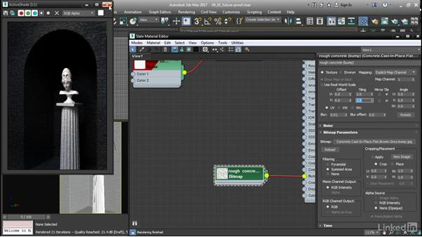 Future-proofing material presets: 3ds Max: Advanced Materials