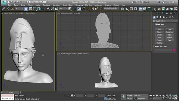Preparing for baking: 3ds Max: Advanced Materials