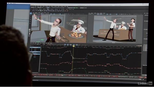 Spline work on gestures: Animation Foundations: Gesture