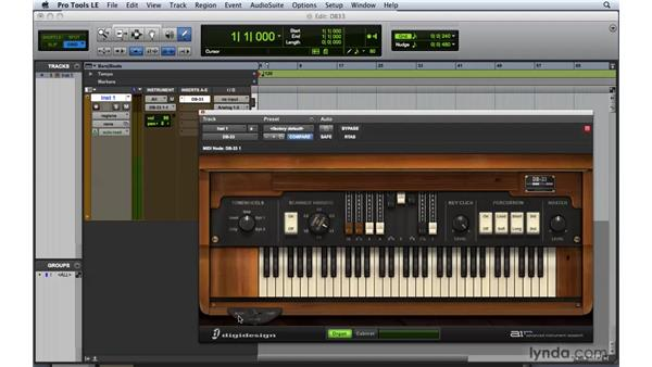 Working with DB-33: Pro Tools 8 Essential Training