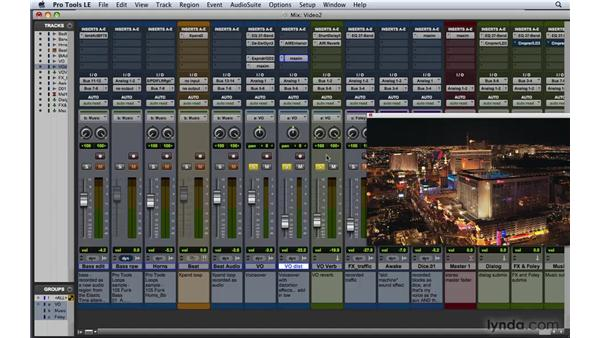 Adding music, foley, ADR, and FX: Pro Tools 8 Essential Training