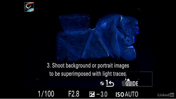 Light painting an object: Sony Alpha a7 Tips: Apps for Your Camera